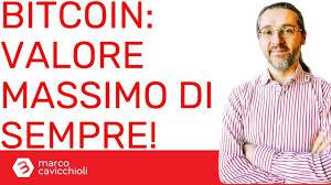 Bitcoin: raggiunto il valore massimo di sempre - il Bitcoin