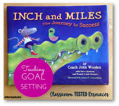 this book takes inch and miles on a journey where they meet many characters who guide them in understanding the values and building blocks needed to create