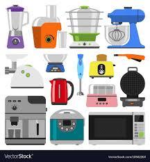 kitchen appliances clipart. Interesting Appliances Kitchen Appliances Vector Image Intended Appliances Clipart K