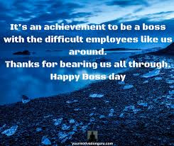 Thank You Quotes For Boss Adorable Boss's Day Quotes Sayings And Thank You Notes