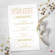wedding day itinery wedding weekend itinerary wedding day timeline digital