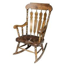 exellent vintage wooden rocking chairs chair american inside old