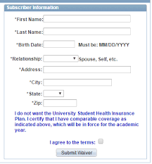 health insurance waiver form template subscriber 2 png