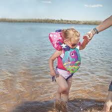 Stearns 2000023531 Puddle Jumper Infant Pink Fish Life Jacket