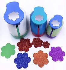 Flower Paper Punch Tool Tech P Set Of 3pcs 2 Inch 1 5 Inch 1inch Craft Punch Set Paper