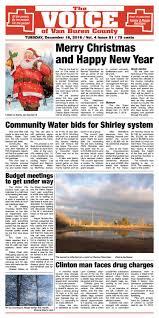 The Voice of Van Buren County - December 18, 2018 by The Voice of Van Buren  County - issuu
