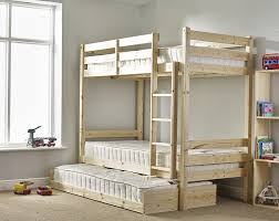 Bunk Bed with Guest Bed - 3ft Single bunkbed with pull out trundle - FAST  DELIVERY: Amazon.co.uk: Kitchen & Home