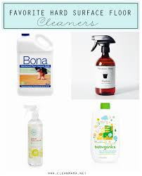 Favorite Hard Surface Floor Cleaners Via Clean Mama