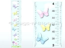 growth charts wall kids chart decorative girls for walls decal canada