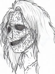 Small Picture Scary Halloween Coloring Pages For Adults Archives And Scary