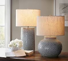 do one on the console in foyer this is a heat bargain 149 charlotte ceramic table lamp bases potterybarn ceramic table lamps 942