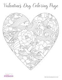 valentine coloring. Brilliant Valentine FREE Valentineu0027s Day Coloring Pages For Grown Ups Intended Valentine R