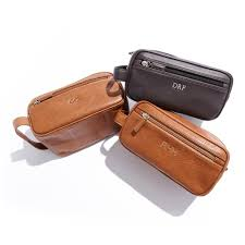personalized dopp kit this is one of those gifts you don t realize how usefully it is until you have it my pas gifted my husband a leather dopp kit a