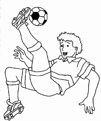Soccer Coloring Pages All Page For Kids To Print Sheets Pdf