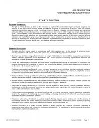 sample athletic resumes sample high school athletic director resume danaya athletic