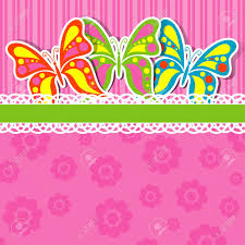 butterfly invitation template com template greeting card vector illustration royalty cliparts