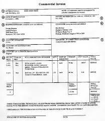 Fedex Customs Invoice Form Ups Customs Invoice Template Fedex