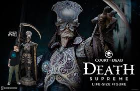 size of supreme court death supreme life size figure sideshow collectibles