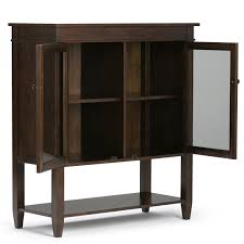 Diamond Vibe Cabinets Simpli Home Carlton Storage Media Cabinet And Server Reviews