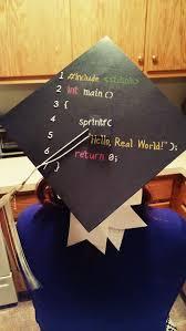 Graduation Cap Designs For Guys My Computer Science Graduation Cap Graduation Cap Grad