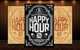 Happy Hour Flyer Happy Hour Flyer Psd Download Here Graphicriver Net Item