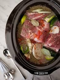 slow cooker pork posole from foocrush