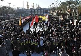 Image result for مشارکت 6 میلیونی در جشن نیمه شعبان عراق
