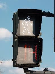 Walking Sign Light Pedestrian Walk Walking Street Sign Symbol Bridge