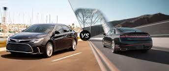 2016 Toyota Avalon vs. 2016 Lincoln MKZ