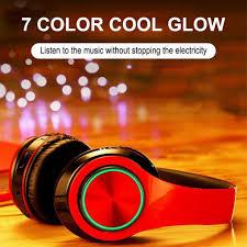 New <b>B39</b> Portable <b>Folding Wireless</b> Bluetooth Headphones LED ...