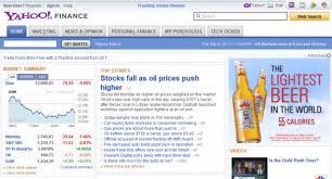 Yahoo Finance Business Finance Stock Market Quotes News Gorgeous Yahoo Finance Business Finance Stock Market Quotes News Best