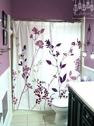 dark purple shower curtain and white curtains wonderful black accessories e