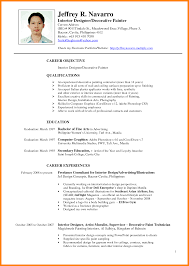 9 Resume Sample Format Philippines Forklift Resume