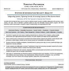 12 Security Resume Templates Sample Templates