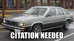 Citation Needed Chevy Citation Needed Meme Generator