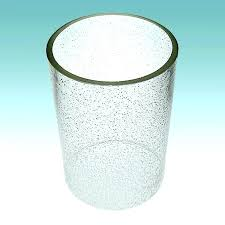 seeded glass shade clear cylinder 5 x 7 1 4 lampshades what is linear chandelier replacement what is seeded glass