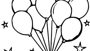Printable Balloon Coloring Sheets Westtraverse Info