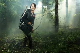 katniss everdeen and the hunger games katniss hunting bow  katniss everdeen and the hunger games katniss hunting bow photograph