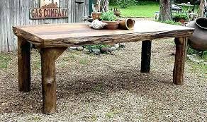 Image Rustic Outdoor Round Wooden Outdoor Dining Table Outdoor Wooden Table Nice Wooden Patio Table And Chairs Wood Patio Vesta35info Round Wooden Outdoor Dining Table Outdoor Wooden Table Nice Wooden