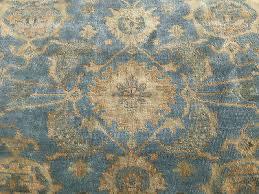 9x12 blue hand knotted oushak rug wool ushak handmade rugs persian oriental gold