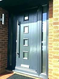 Contemporary Entry Door Hardware Contemporary Door Hardware Black
