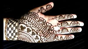 Easy Cone Design For Hands Simple Full Hand Eid Henna Easy And Quick Mehendi Design