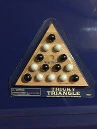 Tricky Triangle Game <b>Classic Vintage</b> Toy <b>Fun Puzzle Wood</b> | eBay