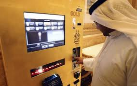 Gold Bar Vending Machine Simple The ATM That Dispenses Gold Bars Telegraph