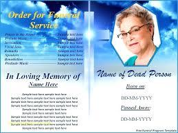Memorial Pamphlet Template Memorial Brochure Template Funeral Booklet Free Download Best Of