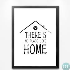 Nordic Minimalist Black White Houses Love Quotes Art Canvas Prints Interesting Posters With Love Quotes