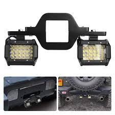 Truck Mounted Led Work Lights Ijdmtoy Tow Hitch Led Pod Light Kit Fit For Many Truck Suv