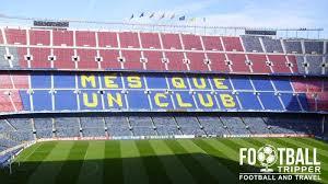 Fc Barcelona Seating Chart Camp Nou F C Barcelona Travel Guide Football Tripper