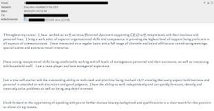 Cover Letter Sent Via Email 10 Resume Sample