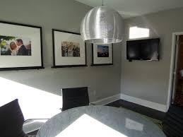Master Bedroom Paint Colors Benjamin Moore Benjamin Moores Ozark Shadows On The Walls Crisp White Trim